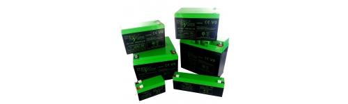 Batteries au plomb étanche