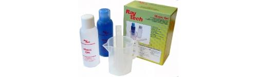 Gel d'étanchéité silicone bi-composant