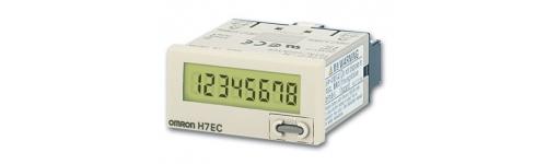 Compteurs totalisateurs LCD H7EC