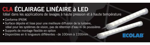 Barrette lumineuse à LED IP69K - Série CLA