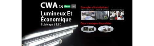 Eclairage linéaire à LED IP65 - Série CWA