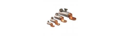 Cosses à vis aluminium-cuivre