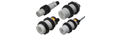 Détecteurs de proximité capacitifs série CA18 / CA30